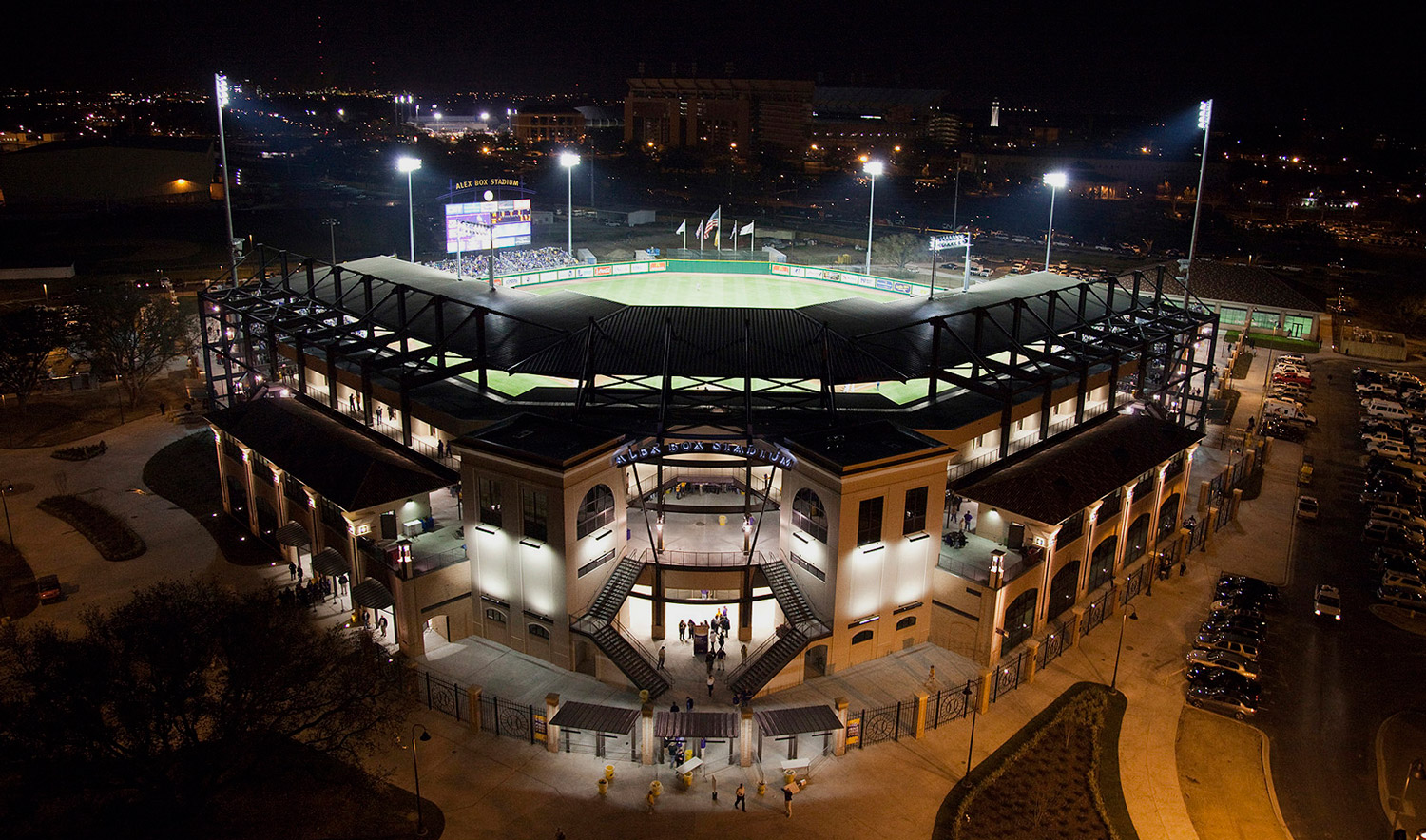 Louisiana State Universityalex Box Stadium Aillet