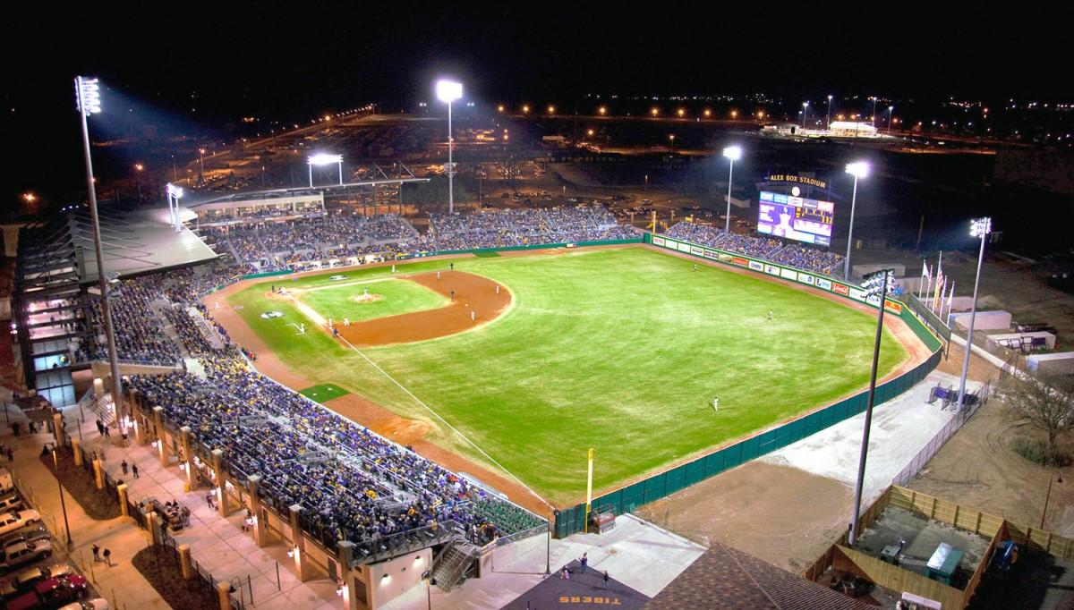 Louisiana State UniversityAlex Box Stadium - Aillet ...